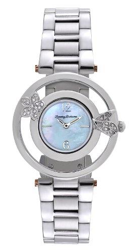 Tommy Bahama TB4049 Frauen Edelstahl Armband blaue Zifferblatt runde Uhr