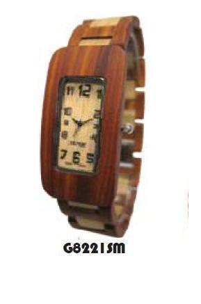 Tense Wood Watch Maenner Solide Sandelholz Maple hypoallergene Uhr G82221SM ANLF