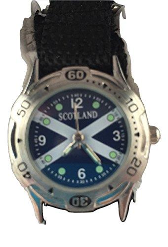 Schottland Analog Quarz Classic Klettverschluss armbanduhr RRP 70 Discount