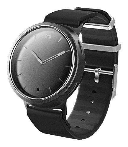 Misfit mis5000 Unisex Schwarz Silikon Band Schwarz Zifferblatt Smart Watch
