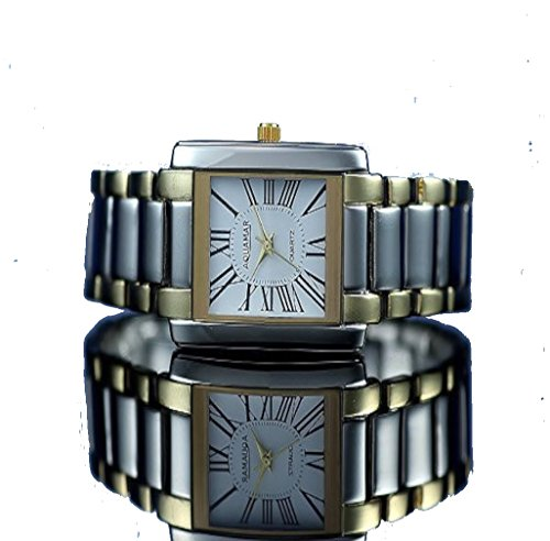Damen Gliederband Uhr Bicolor Modewatch