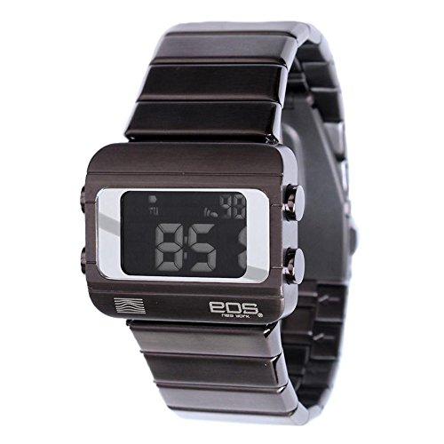 EOS New York Sprinx Digital Mix Edelstahl IP Silber Unisex Uhren