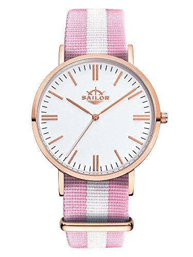 Armbanduhr Sailor Classic Sun mit Armband aus Nylon