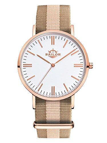 Armbanduhr Sailor Classic Habour mit Armband aus Nylon
