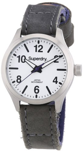 Superdry XS Analog Quarz Leder SYL113E