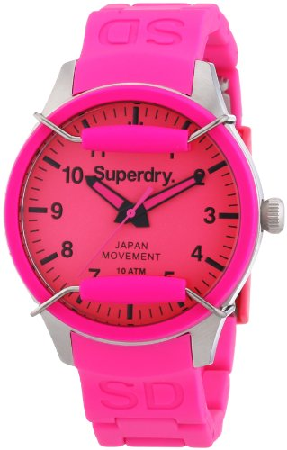 Superdry Analog Quarz Silikon SYL120P