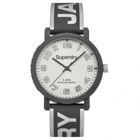 Damen Supergroup Armbanduhr Modell Campus Silber und Grau syl196ee