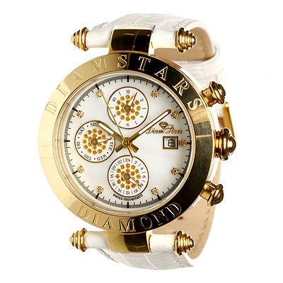 Damen Armbanduhr Chronograph Hollywood Multicolours du653013 li
