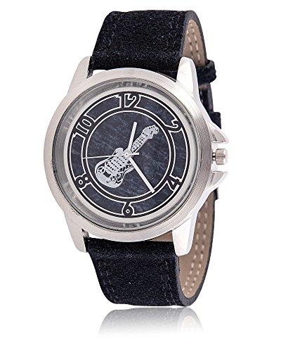 Armbanduhr mit E Gitarre Schoenes Geschenk fuer Musiker