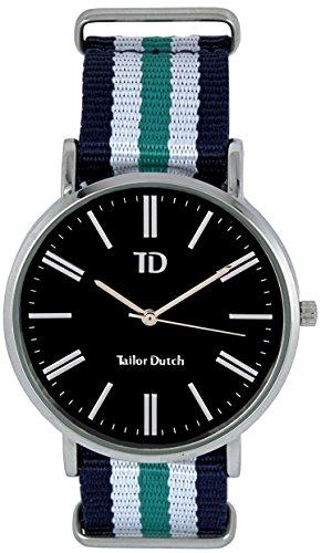 Tailor Dutch Uhr SB Blau Weiss Acqua Weis Blau