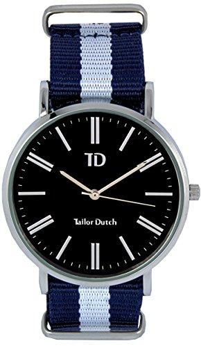 Tailor Dutch Uhr SB Blau Weiss Blau