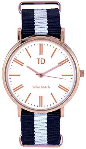 Tailor Dutch Uhr RGW Blau Weiss Blau
