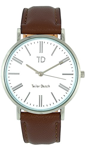 Tailor Dutch Uhr SW Leer Braun