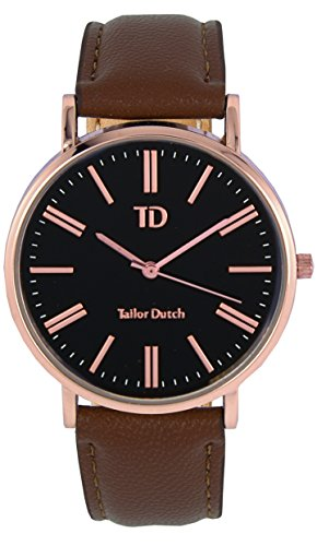 Tailor Dutch Uhr RGB Leer Braun
