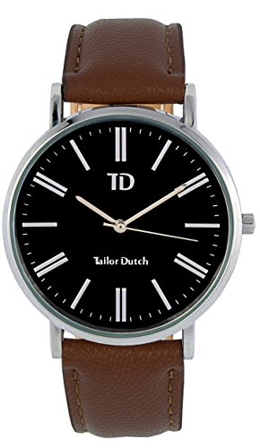 Tailor Dutch Uhr SB Leer Braun