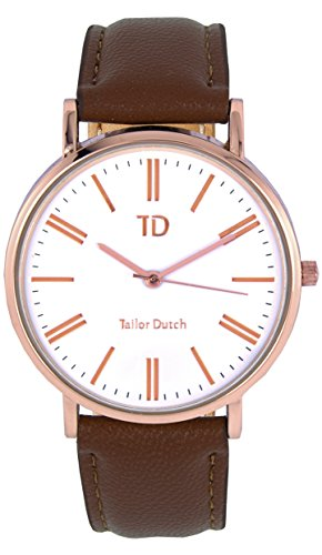 Tailor Dutch Uhr RGW Leer Braun
