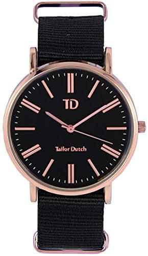 Tailor Dutch Uhr RGB Schwarz