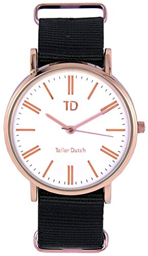 Tailor Dutch Uhr RGW Schwarz
