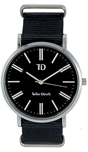 Tailor Dutch Uhr SB Schwarz