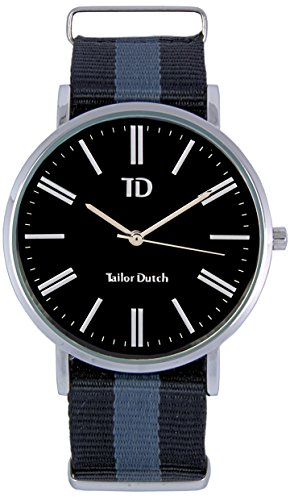 Tailor Dutch Uhr SB Schwarz Grau Schwarz