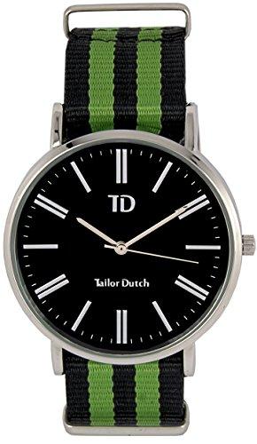 Tailor Dutch Uhr SB Schwarz Gruen