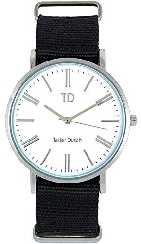 Tailor Dutch Uhr SW Schwarz