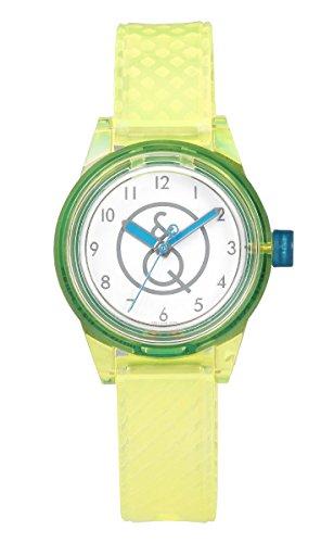 Q Q Mini Smile Solar Unisex Eco Freundlicher Armbanduhr by Citizen 10 ATM Wasser widerstehen rp01j006y