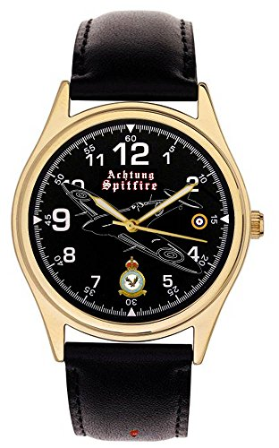 ACHTUNG Spitfire RAF 266 Squadron ww ii Gedenk 40 mm Armbanduhr