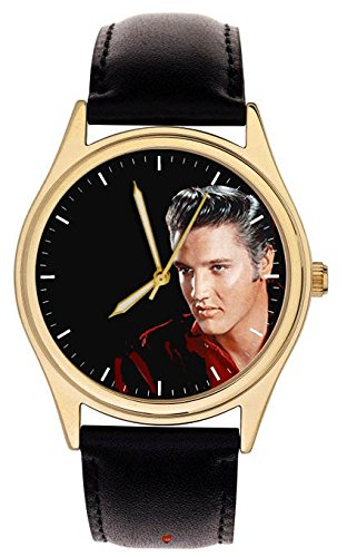 Crimson Rot Elvis Presley Collectible Armbanduhr Schwere 24 K IGP Fall