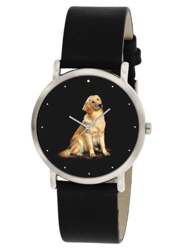 Golden Retriever Dog Lover s Classic Massgeschneiderte Art Unisex Armbanduhr 30 mm