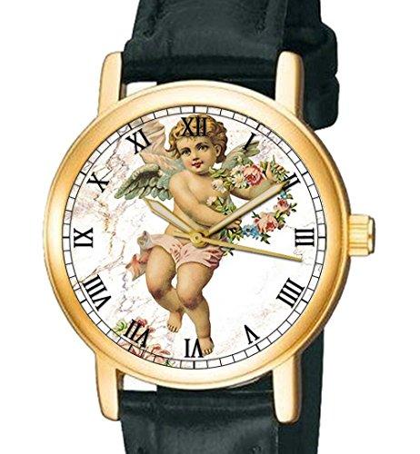 Gorgeous Vintage Amor Eros Cherubic Art Collectible 30 mm Armbanduhr