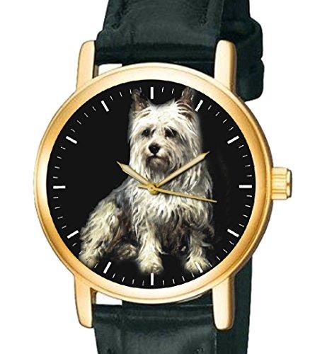 Wunderschoene Yorkshire Terrier Hund Lover s Unisex 30 mm Armbanduhr