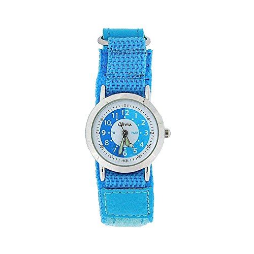 Boxx f1545 24 Time Teacher Armband aus Stoff Farbe Blau