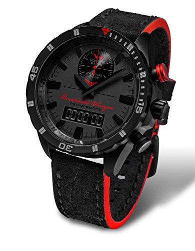 Vostok Europe Almaz Benediktas Vanagas Titan Black Edition 320J370
