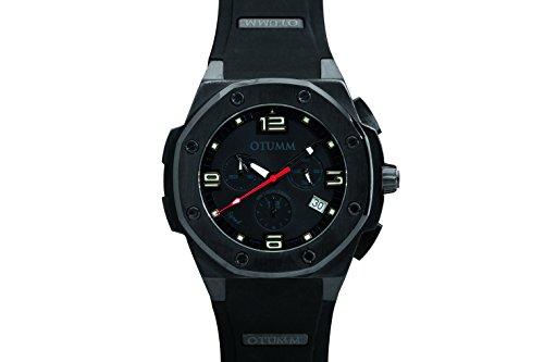 OTUMM Speed Black Chronograph 45 mm schwarz schwarz