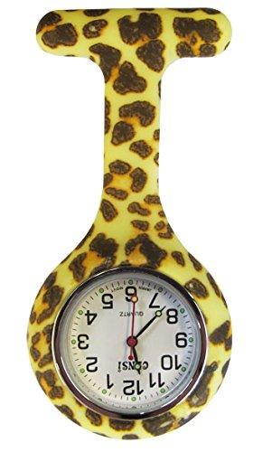 Cheetah Fob Watch Analog Silikon