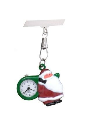 Vater Weihnachten Santa vet Krankenschwester Hebamme Beauty Therapist Taschenuhr