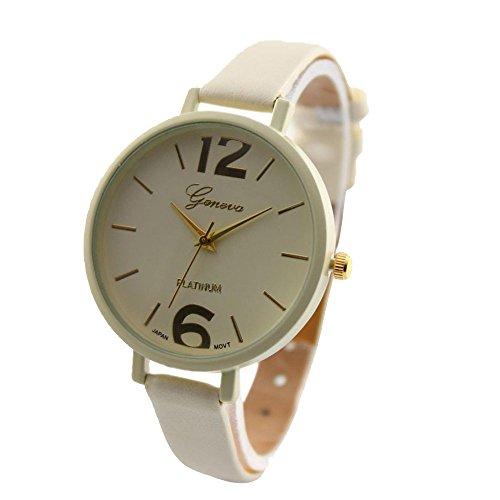 Armbanduhren damen leder schmal