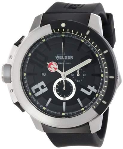 Welder Unisex-Armbanduhr Chronograph Quarz Kautschuk W301
