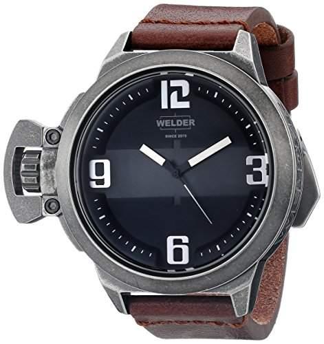 Welder Unisex-Armbanduhr Analog Quarz Leder K24 3604