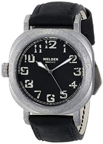 Welder Unisex-Armbanduhr Analog Quarz Leder K19 503