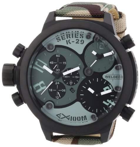 Welder Unisex-Armbanduhr Chronograph Quarz Kautschuk K29 8004