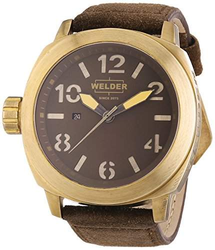 Welder Unisex-Armbanduhr Analog Quarz Leder K51 9102