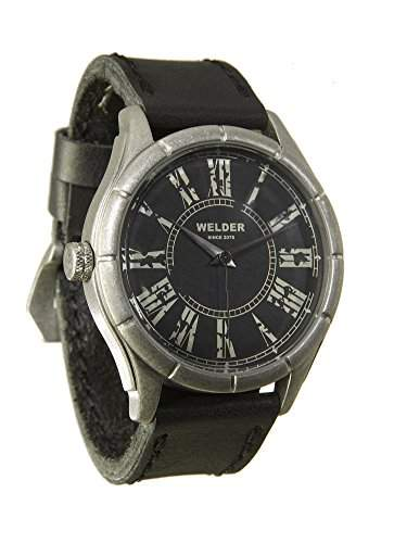 MenWelder Armbanduhr PH4900-C-PH01T Analog Leder schwarz 21-505 K