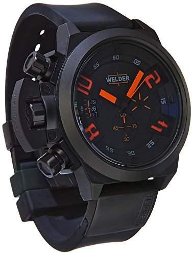 Welder Herren-Armbanduhr K24-3300 Chronograph Quarz Kautschuk K24-3300