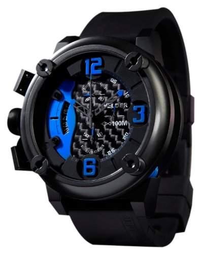 Welder Herren-Armbanduhr Quarz Chronograph K28 7103