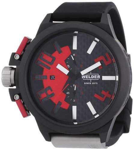 Welder Mens K35 Series Ion Plated Chronograph Watch - K35 2501