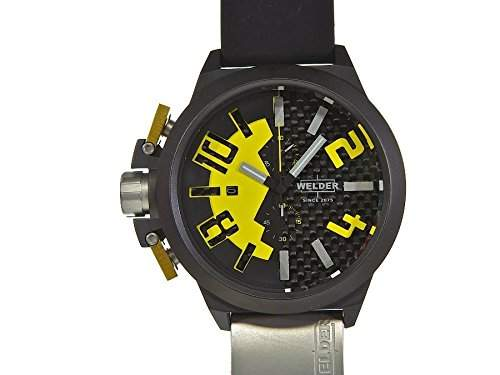 Welder Mens K35 Series Ion Plated Chronograph Watch - K35 2502