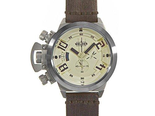 Welder Chronograph Quarz Leder K24 3206
