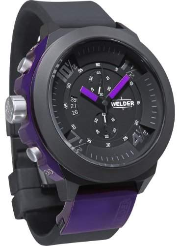 Welder by U-Boat K33 Chronograph Black Ion-plated Steel Mens Sport Watch K33-9303